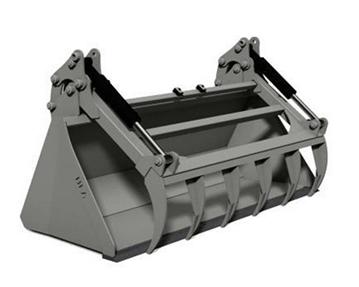 Standard (Skidsteer) Bucket & Regular Utility Grapple