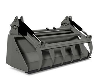 Standard (Front End Loader) Bucket & Regular Utility Grapple