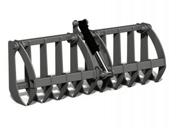 Light Duty Root Rake c/w Grapple for Compact Loaders